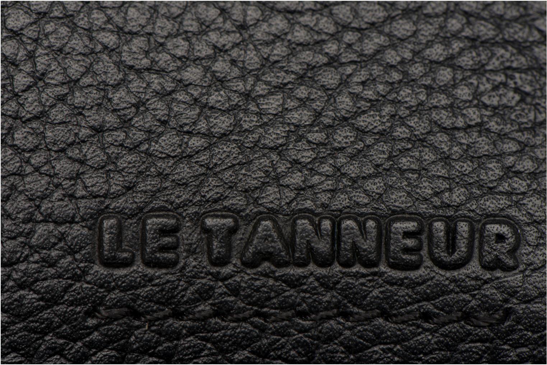 Pelletteria Le Tanneur MARIUS Porte-papiers 3 poches Nero immagine sinistra