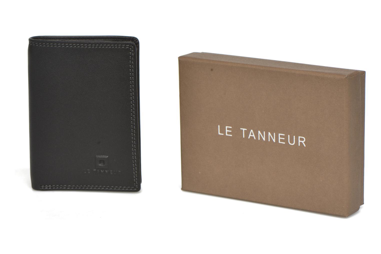 Le billets et Porte cartes Noir TOURAINE Tanneur 4q6Ur4