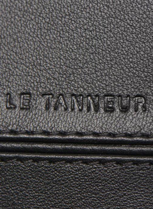 Petite Maroquinerie Le Tanneur JULES Porte-billets 2 poches Noir vue gauche