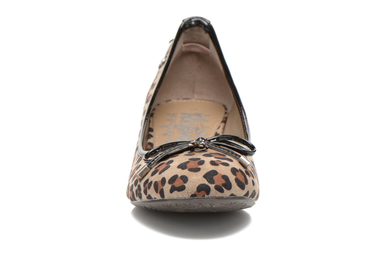 Ballerines Refresh Gatinina-61162 Marron vue portées chaussures