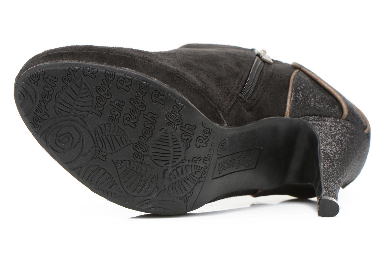 Bottines et boots Refresh Anselma-61205 Noir vue haut