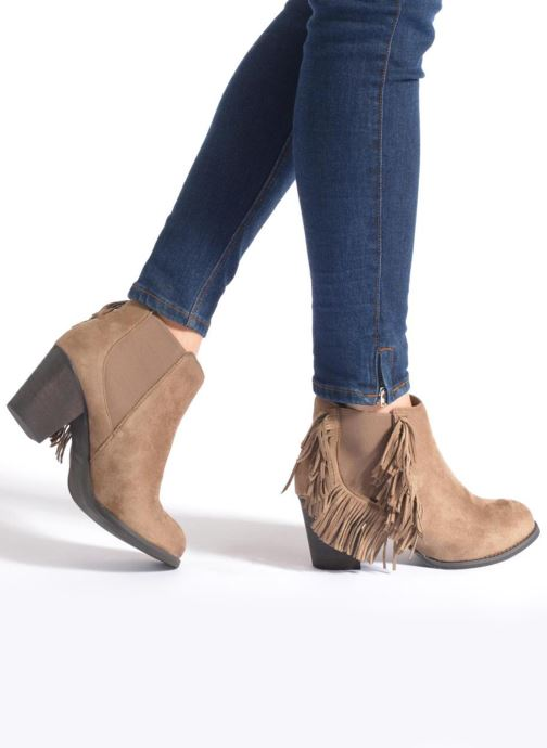 Boots en enkellaarsjes Refresh Carmelina-61231 Bruin onder