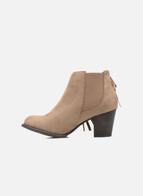 Boots en enkellaarsjes Refresh Carmelina-61231 Bruin voorkant