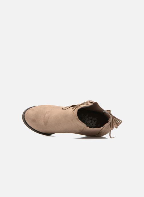Boots en enkellaarsjes Refresh Carmelina-61231 Bruin links
