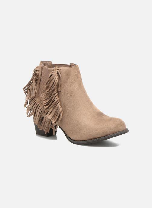Boots en enkellaarsjes Refresh Carmelina-61231 Bruin detail