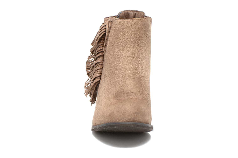Bottines et boots Refresh Carmelina-61231 Marron vue portées chaussures