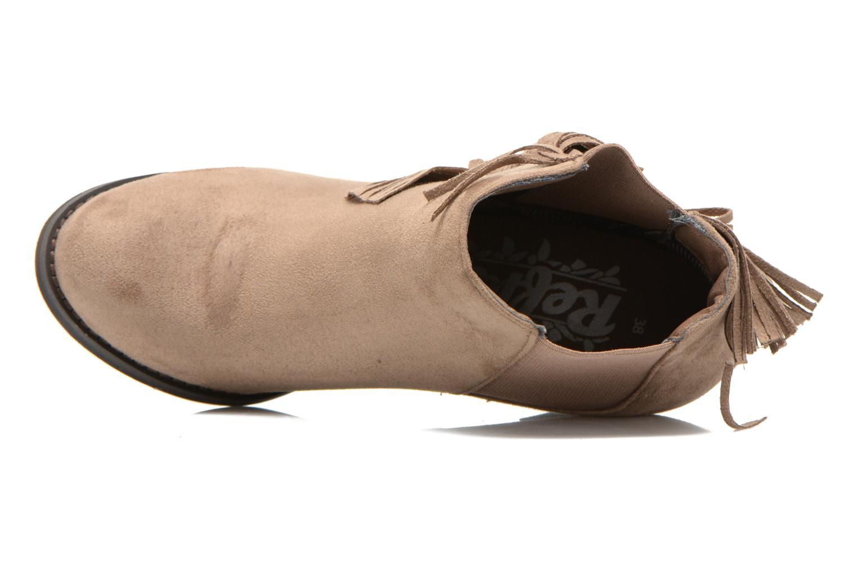 Bottines et boots Refresh Carmelina-61231 Marron vue gauche