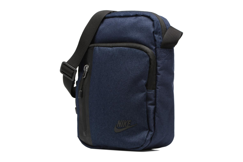 Sacs homme Nike Nike Tech Small Items Bag Bleu vue portées chaussures