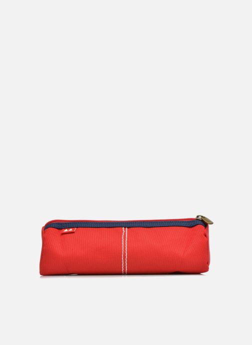 School bags Poids Plume Trousse triangle unie Red front view