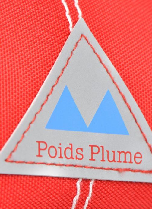 School bags Poids Plume Trousse triangle unie Red view from the left