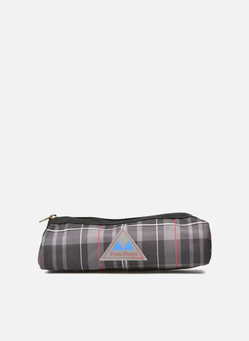School bags Poids Plume Trousse triangle tartan Grey detailed view/ Pair view
