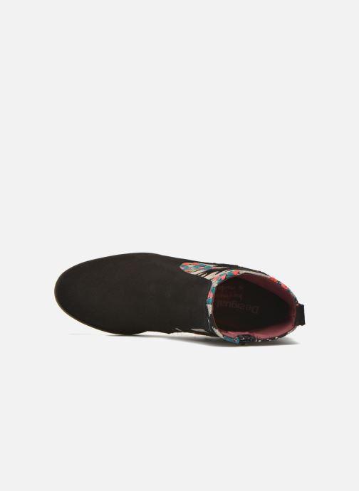 Bottines et boots Desigual Indian boho Noir vue gauche