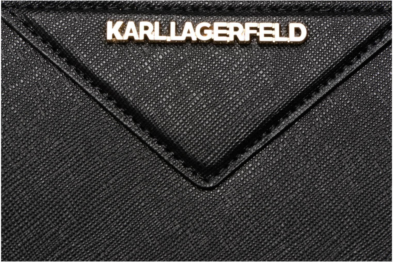 Petite Maroquinerie KARL LAGERFELD Klassic Wallet Noir vue gauche