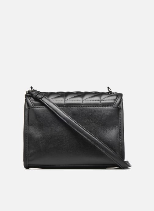 Handtassen KARL LAGERFELD Kuilted Mini Handbag Zwart voorkant