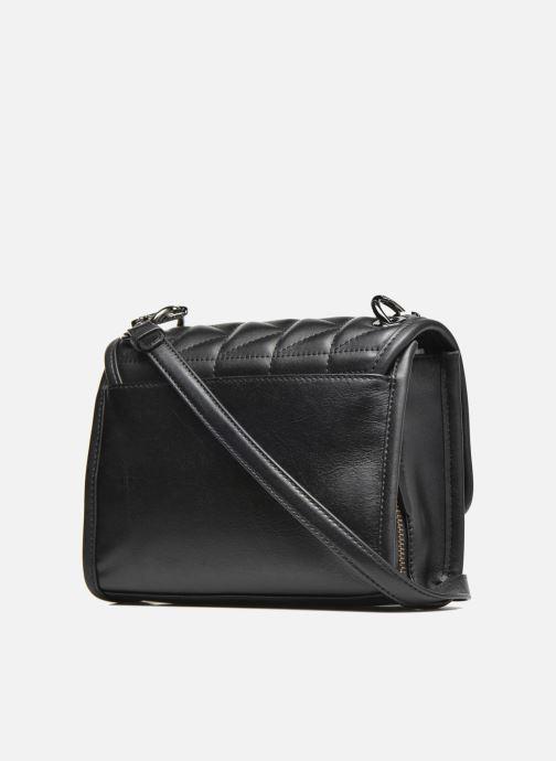 Handtassen KARL LAGERFELD Kuilted Mini Handbag Zwart rechts
