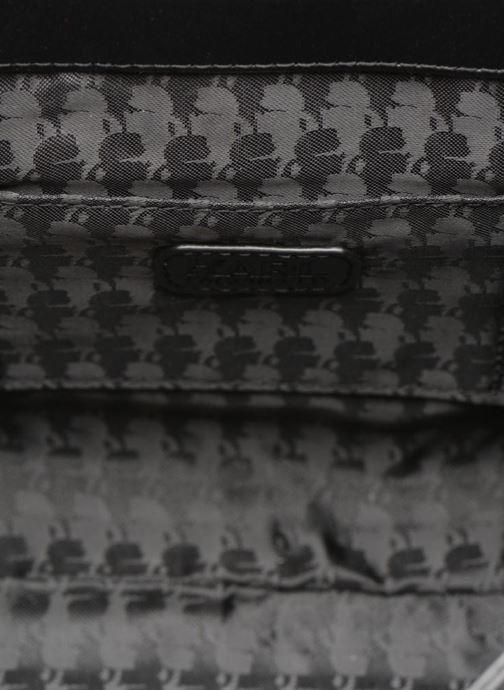 Handtassen KARL LAGERFELD Kuilted Mini Handbag Zwart achterkant