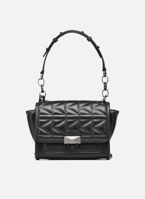 Handtassen KARL LAGERFELD Kuilted Mini Handbag Zwart links