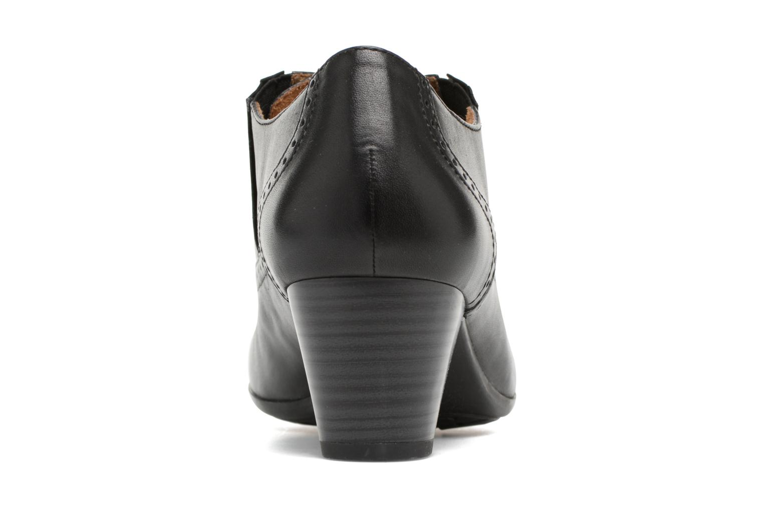 Lace-up shoes Caprice Shante Lace boot Black view from the right