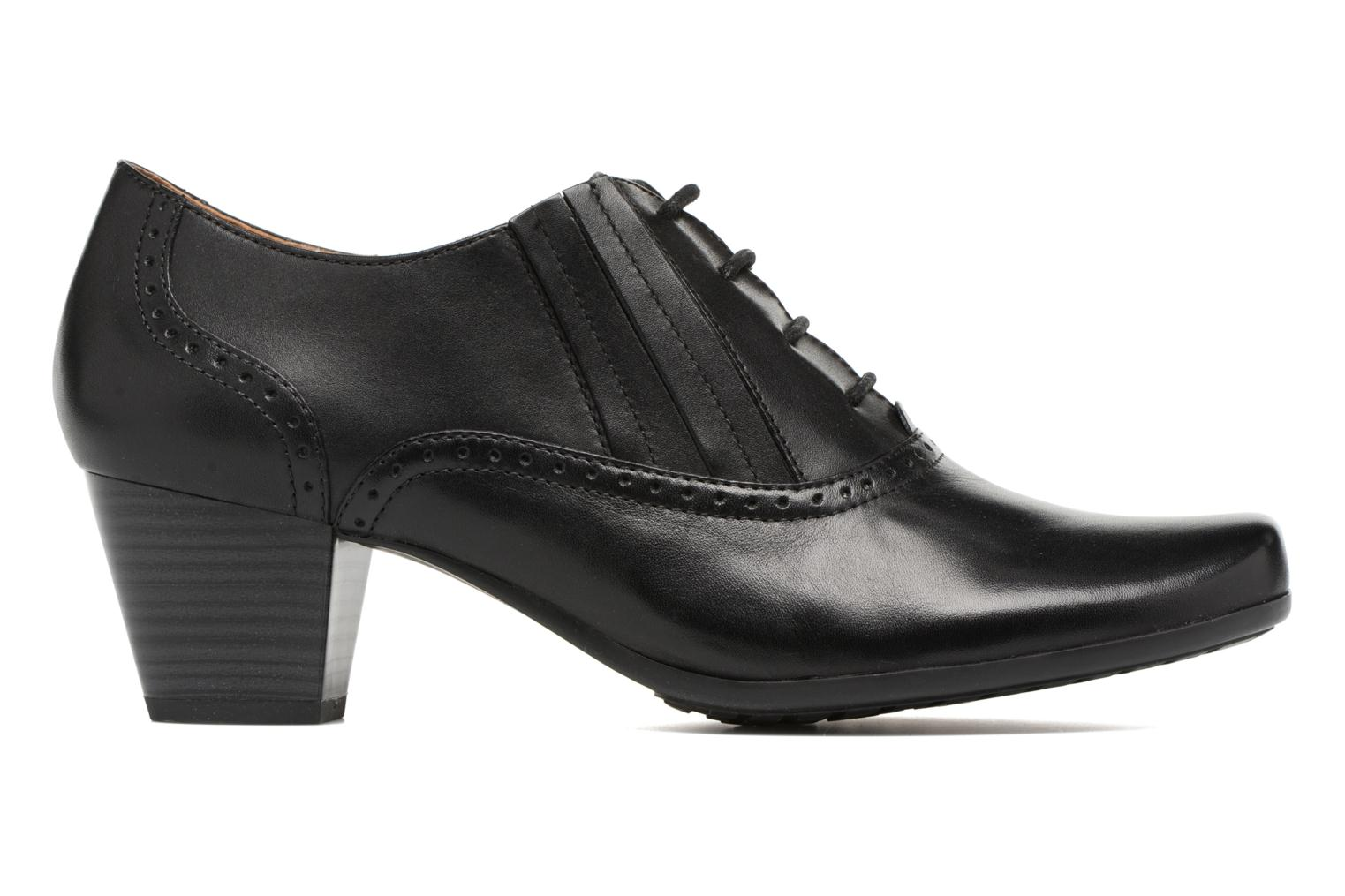 Lace-up shoes Caprice Shante Lace boot Black back view