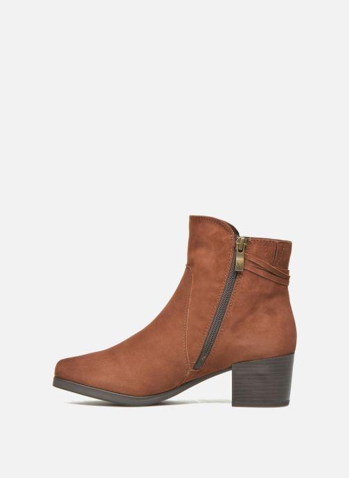 Bottines et boots Caprice Bella 2 Marron vue face