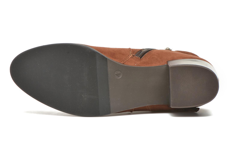 Bottines et boots Caprice Bella 2 Marron vue haut