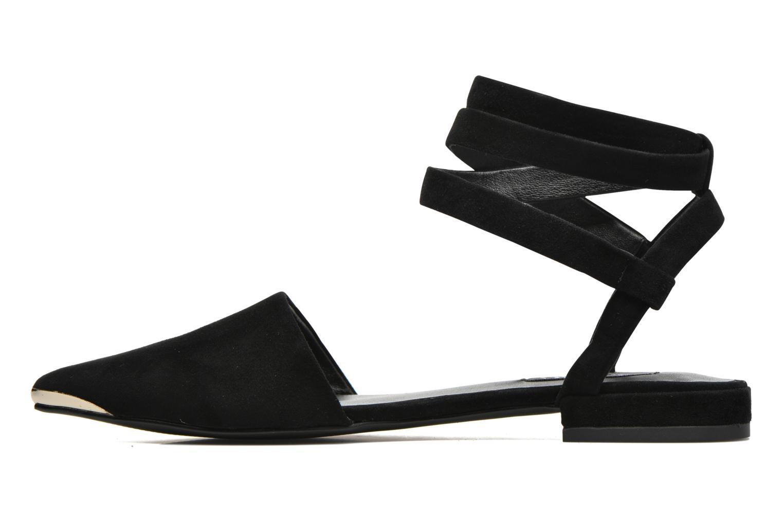 Sandales et nu-pieds SENSO Fleur II Noir vue face