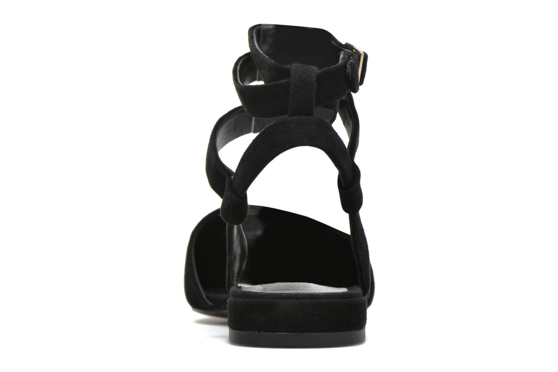 Sandales et nu-pieds SENSO Fleur II Noir vue droite