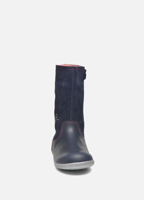 Bottes Agatha Ruiz de la Prada Cazoleta Infantil 3 Bleu vue portées chaussures