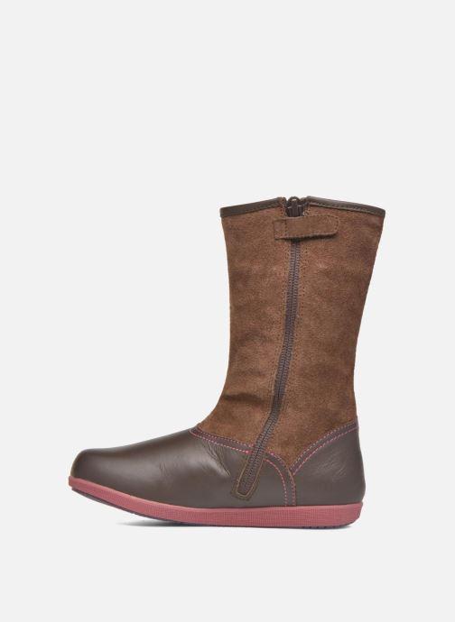 Støvler & gummistøvler Agatha Ruiz de la Prada Swing Brun se forfra