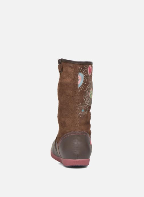Støvler & gummistøvler Agatha Ruiz de la Prada Swing Brun Se fra højre