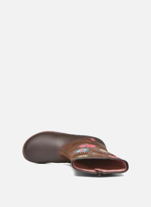 Støvler & gummistøvler Agatha Ruiz de la Prada Swing Brun se fra venstre