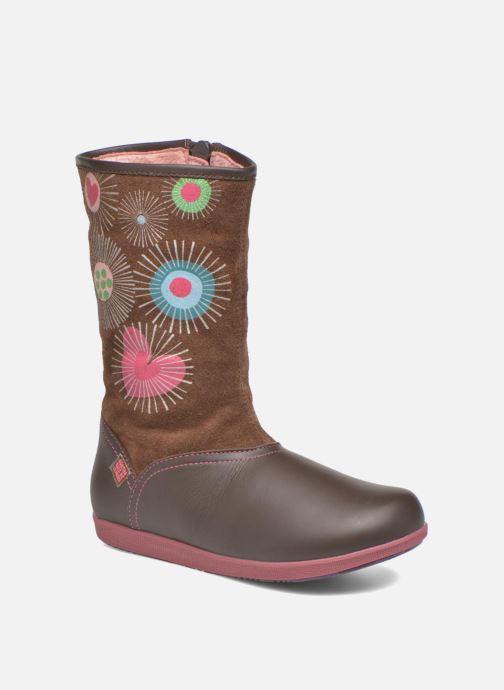 Støvler & gummistøvler Agatha Ruiz de la Prada Swing Brun detaljeret billede af skoene