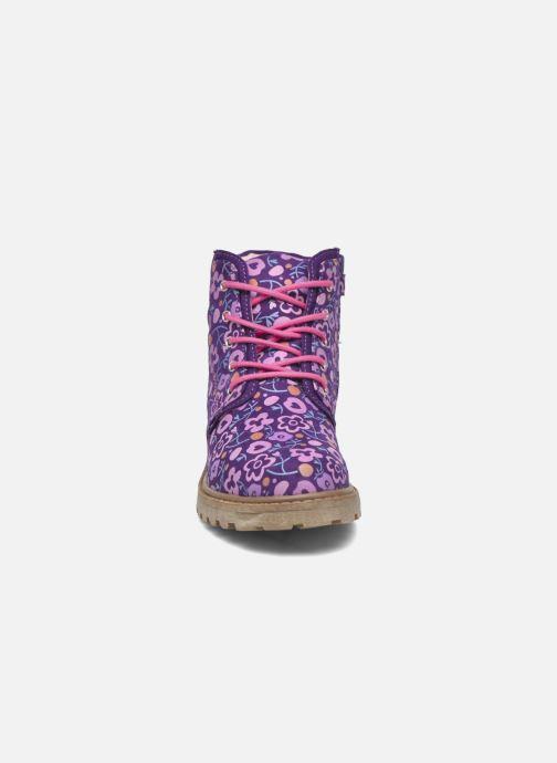 Bottines et boots Agatha Ruiz de la Prada Dessert Agatha 2 Violet vue portées chaussures
