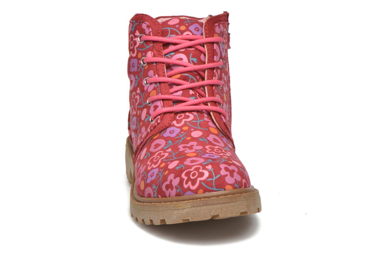 Bottines et boots Agatha Ruiz de la Prada Dessert Agatha 2 Rouge vue portées chaussures