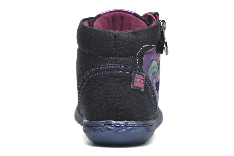 Baskets Agatha Ruiz de la Prada Clever Mid 1 Bleu vue droite