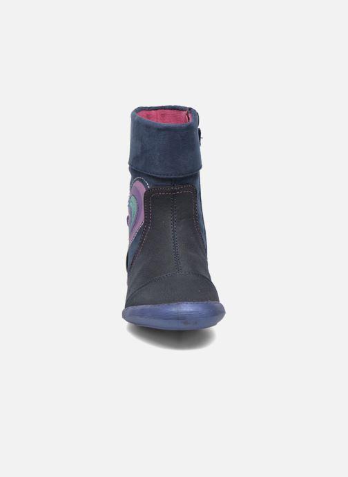 Bottes Agatha Ruiz de la Prada Clever Boots 1 Bleu vue portées chaussures