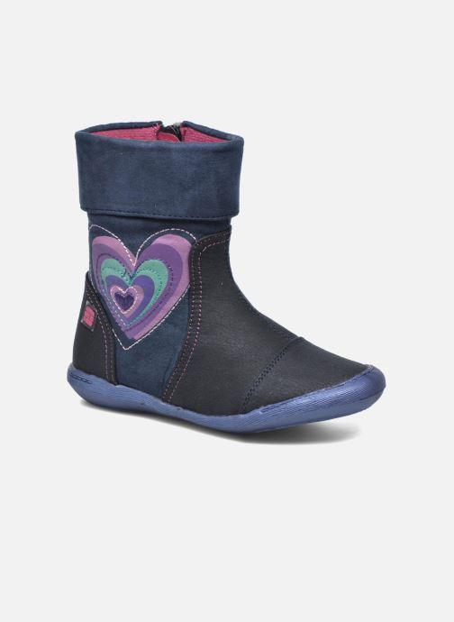 Boots & wellies Agatha Ruiz de la Prada Clever Boots 1 Blue detailed view/ Pair view