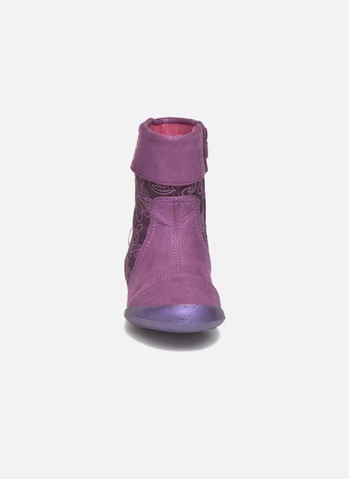Boots & wellies Agatha Ruiz de la Prada Clever Boots 2 Purple model view