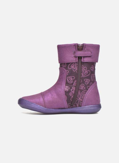 Boots & wellies Agatha Ruiz de la Prada Clever Boots 2 Purple front view
