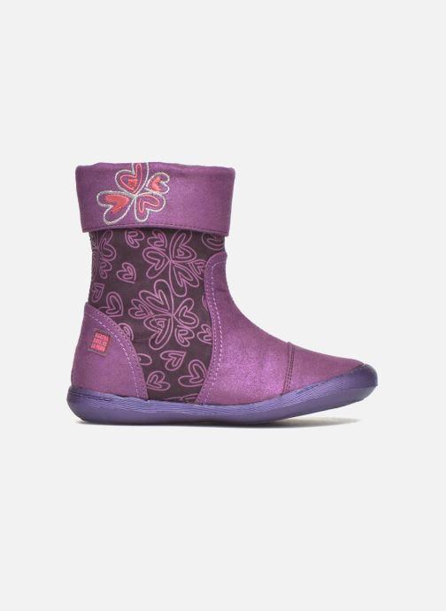 Boots & wellies Agatha Ruiz de la Prada Clever Boots 2 Purple back view