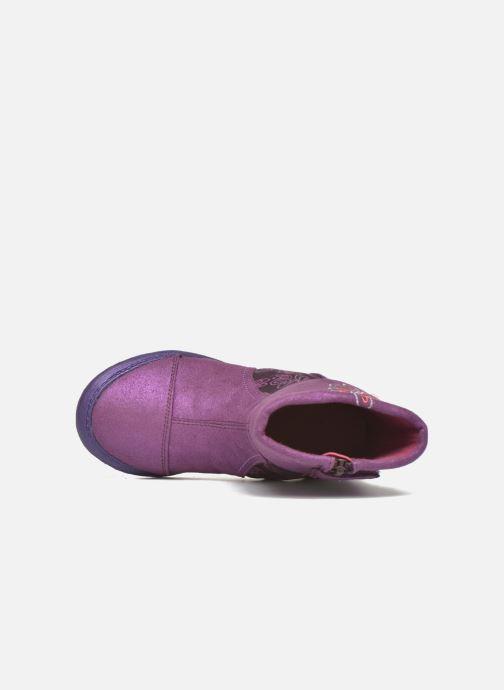 Botas Agatha Ruiz de la Prada Clever Boots 2 Violeta      vista lateral izquierda