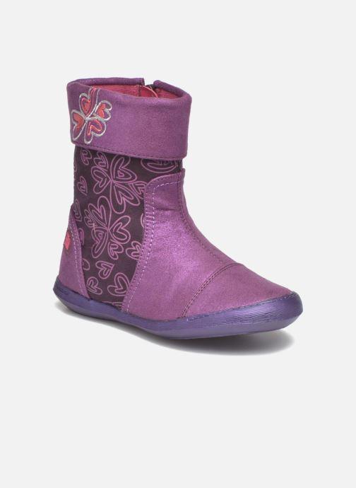 Boots & wellies Agatha Ruiz de la Prada Clever Boots 2 Purple detailed view/ Pair view