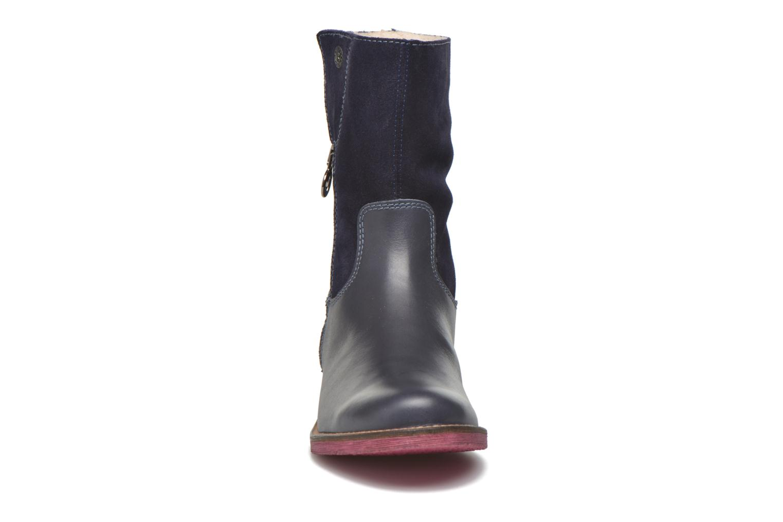 Bottes Agatha Ruiz de la Prada Camperas Agatha 2 Bleu vue portées chaussures