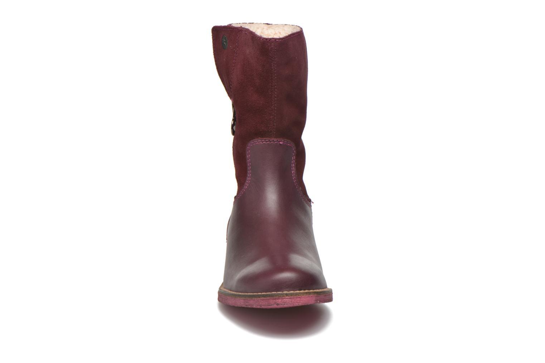 Bottes Agatha Ruiz de la Prada Camperas Agatha 2 Bordeaux vue portées chaussures