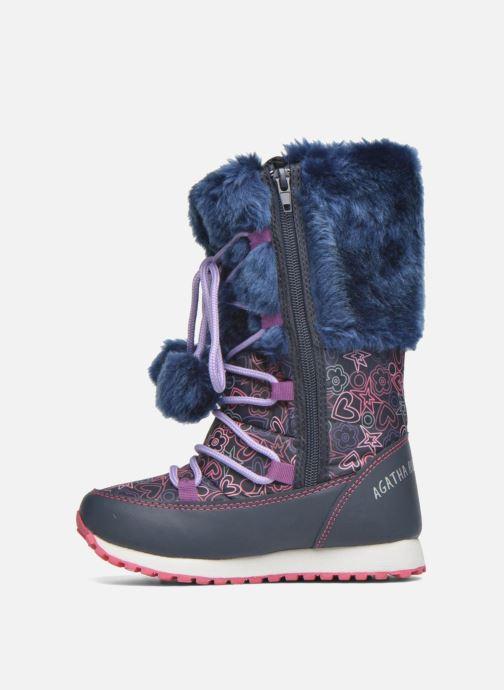 Boots & wellies Agatha Ruiz de la Prada Après-Ski Agatha 2 Blue front view