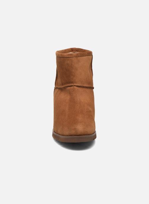 Ankle boots Fabio Rusconi Ada Brown model view