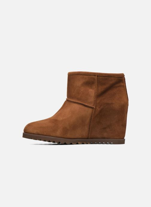 Ankle boots Fabio Rusconi Ada Brown front view