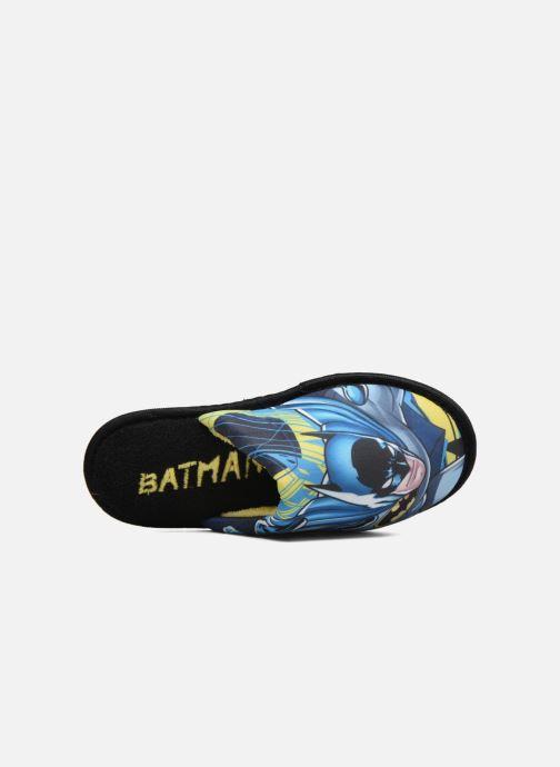 Chaussons Batman Bat Badar Noir vue gauche