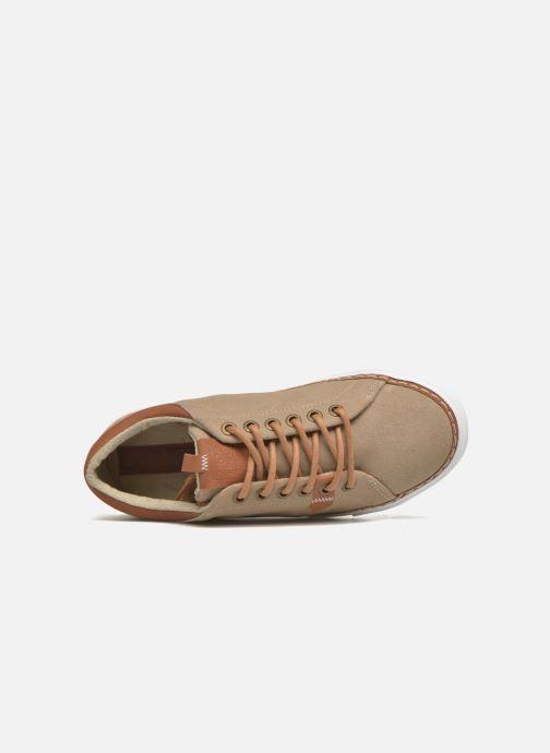 Sneaker Gioseppo Harrison beige ansicht von links