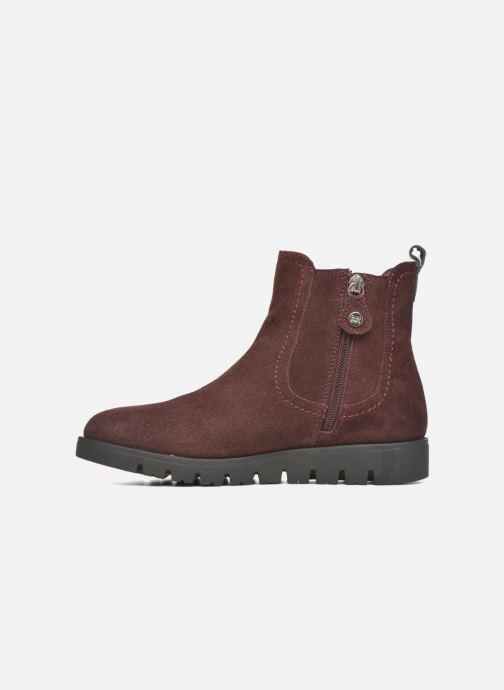 Bottines et boots Gioseppo Muros Bordeaux vue face